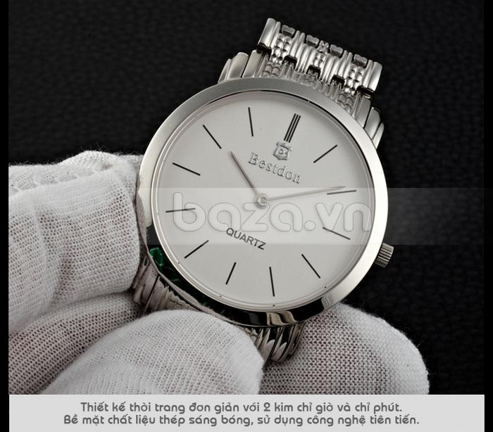Đồng hồ nam Bestdon phong cách thanh lịch độc