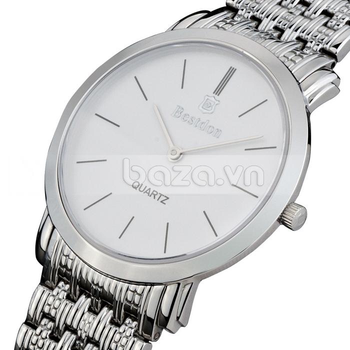 Baza.vn:  Đồng hồ nam Bestdon Siêu Mỏng BD9924G đẹp