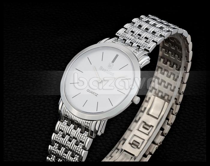 Baza.vn:  Đồng hồ nam Bestdon Siêu Mỏng BD9924G cao cấp