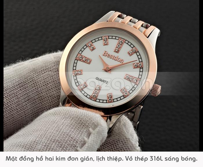 Đồng hồ nữ Bestdon càng nhìn càng cuốn hút