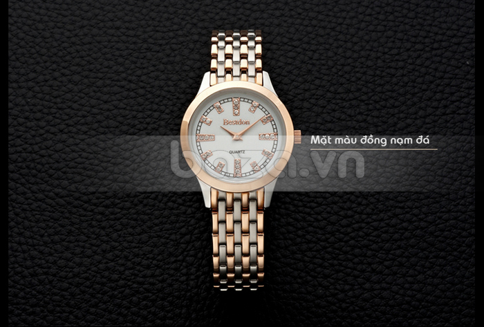 Baza.vn: Đồng hồ nữ Bestdon tinh tế từng chi tiết
