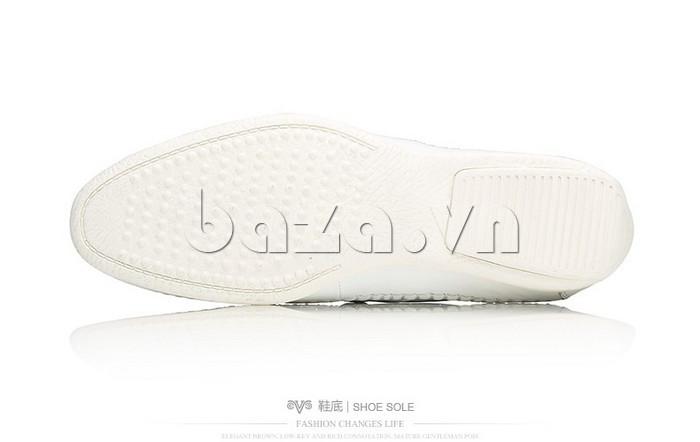 Giày nam Olunpo XCY1503 trắng nổi bật