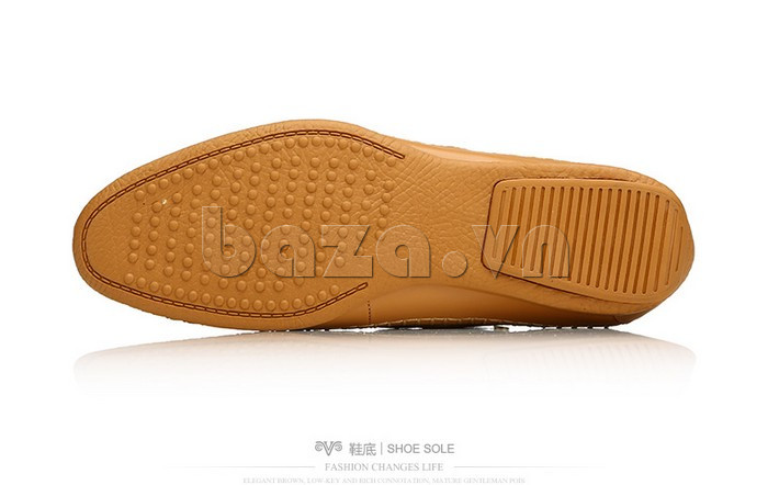 Giày nam Olunpo XCY1503 nâu cổ điển