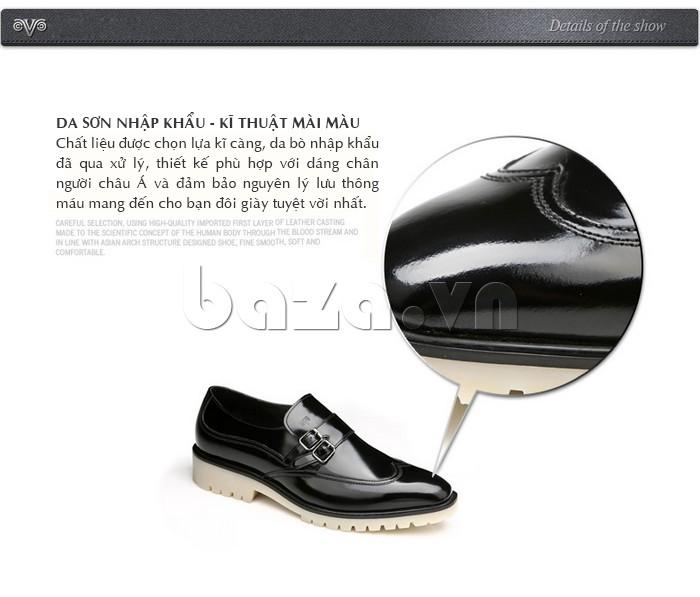 Giầy da nam thời trang Olunpo QEY1301 da sơn nhập khẩu