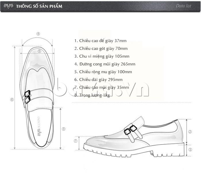 Thông số của Giầy da nam thời trang Olunpo QEY1301