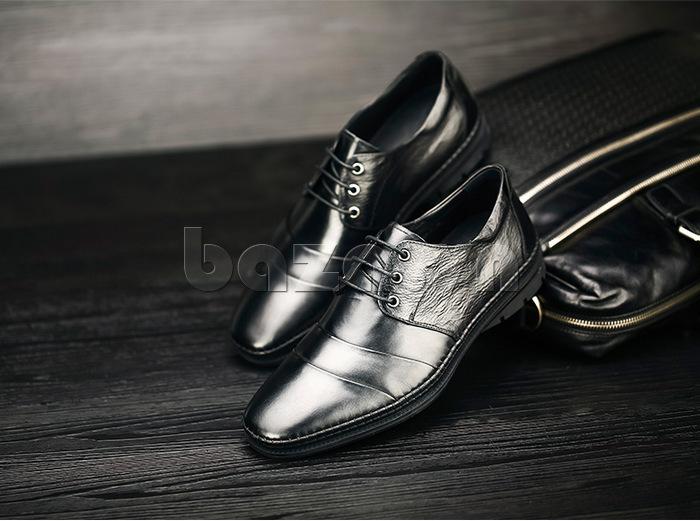 Giày da nam Olunpo QABA1410 da cao cấp