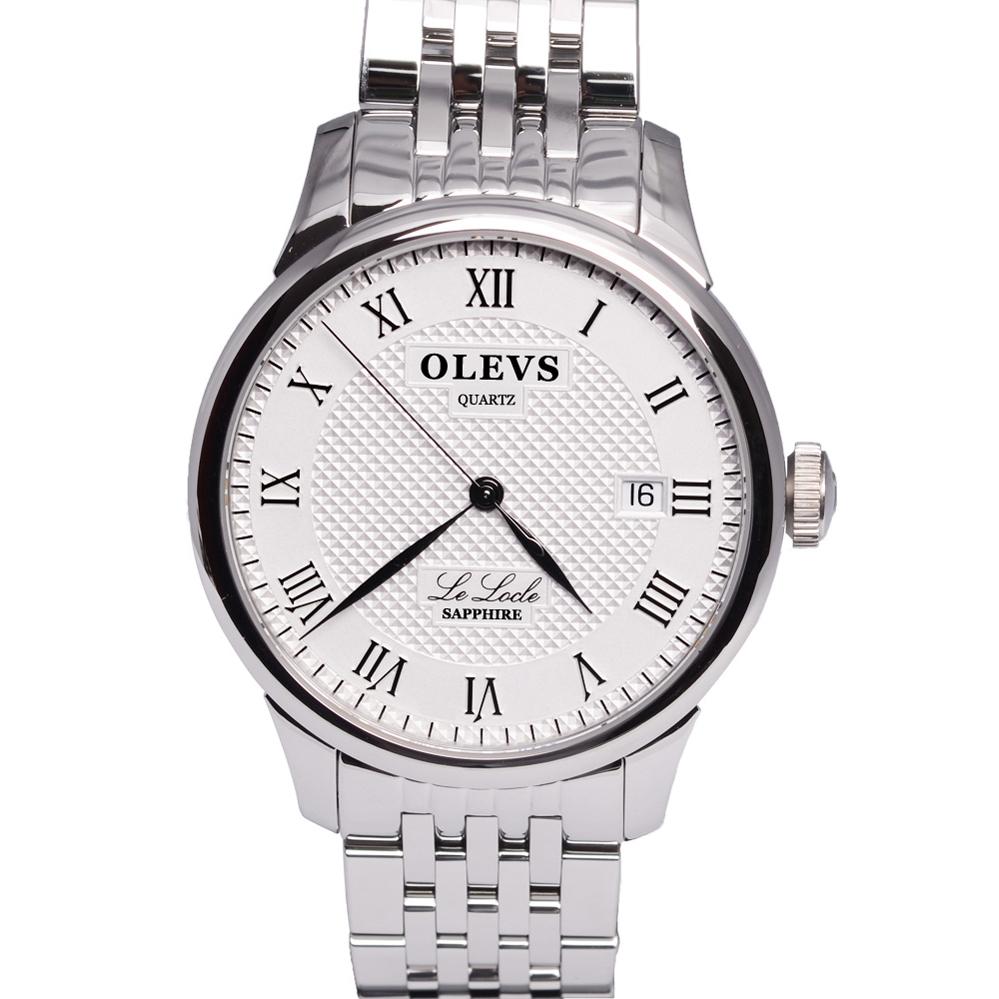 Baza.vn: Đồng hồ OLVES L41 dây sắt