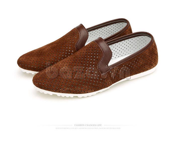Giày nam Olunpo XMB1501 thiết kế đế cao su