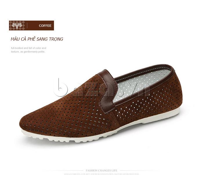 Giày nam Olunpo XMB1501 thiết kế tinh tế