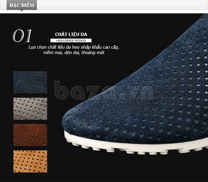 Giày nam Olunpo XMB1501 độc