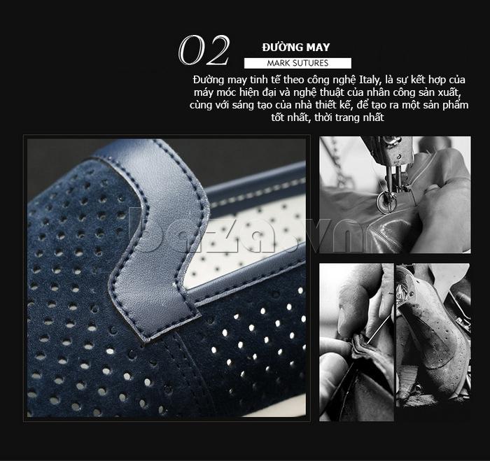 Giày nam Olunpo XMB1501 lạ