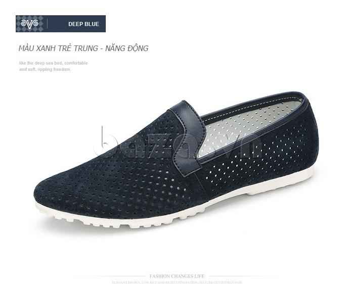 Giày nam Olunpo XMB1501 xanh