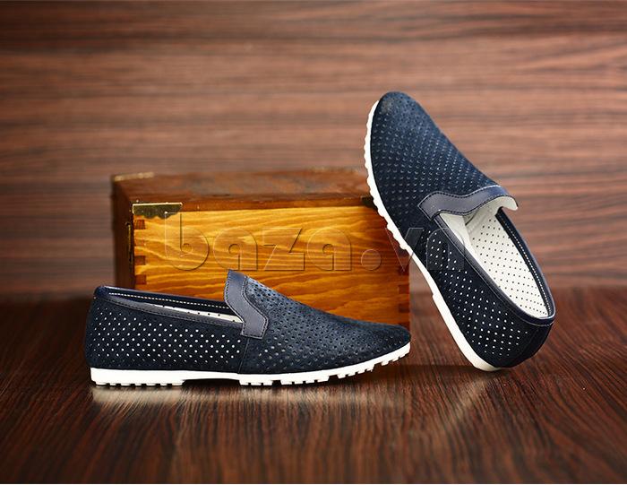 Giày nam Olunpo XMB1501 đen