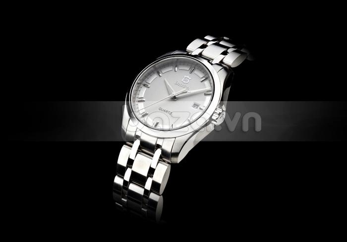 Baza.vn: Đồng hồ nam Bestdon BD9945G màu trắng thời trang