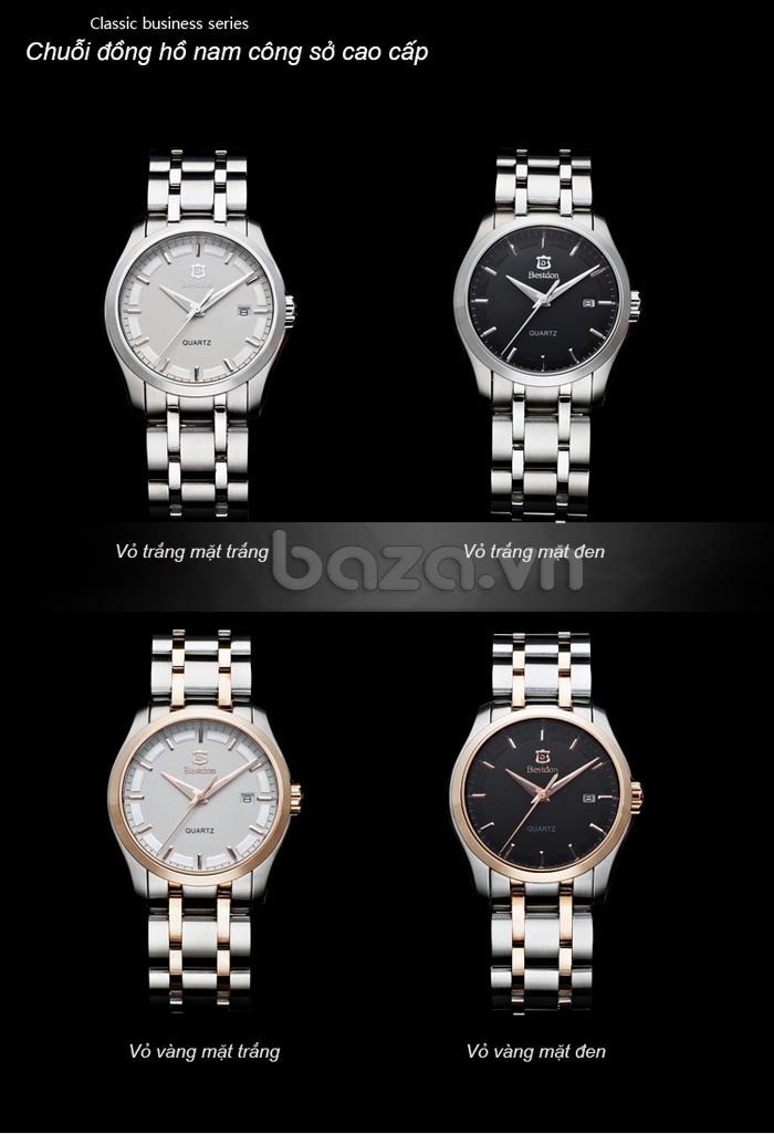 Đồng hồ nam công sở Bestdon có 4 phiên bản