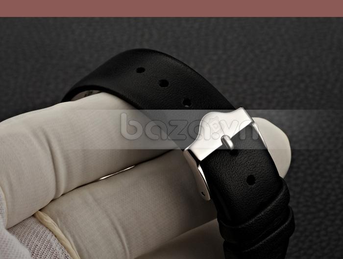 Đồng hồ nam siêu mỏng Bestdon BD9951AG dây đeo da cao cấp