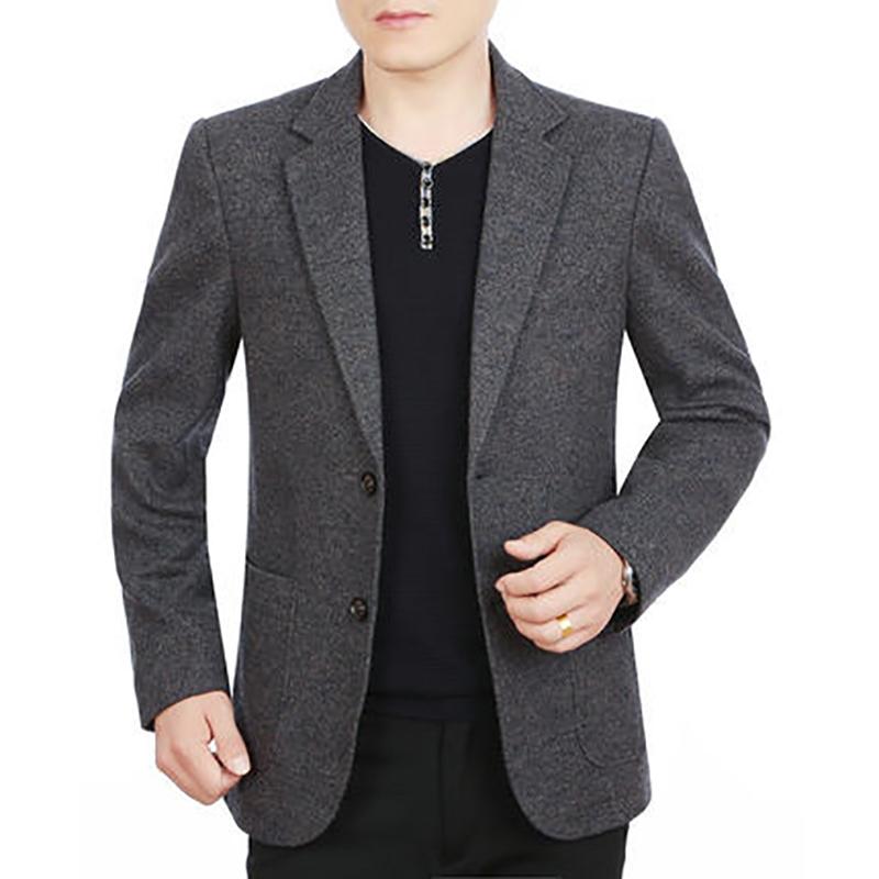 Áo vest nam cao cấp cổ bẻ 2 khuy