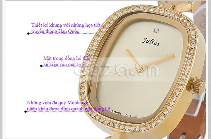 Đồng hồ nữ Julius JA-298 thiết kế tinh xảo
