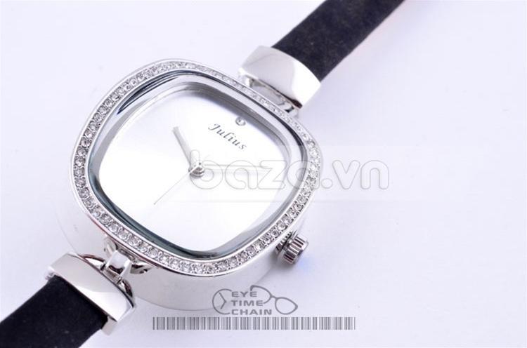 Baza.vn: Đồng hồ nữ Phong Cách Vintage đính đá pha lê