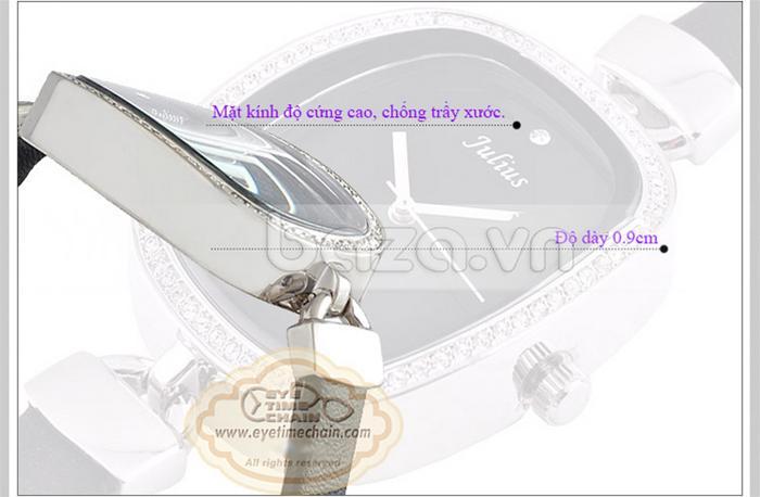 Đồng hồ nữ Julius JA-298 mặt kính chống trầy xước cao