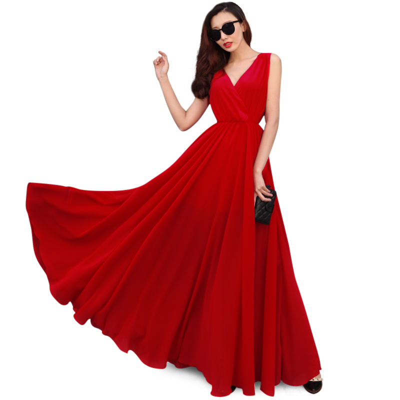 Maxi nữ JM kiểu wrap dress dáng dài