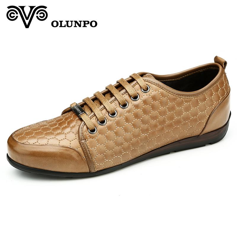 Giày nam Olunpo QHT1424 mặt tổ ong