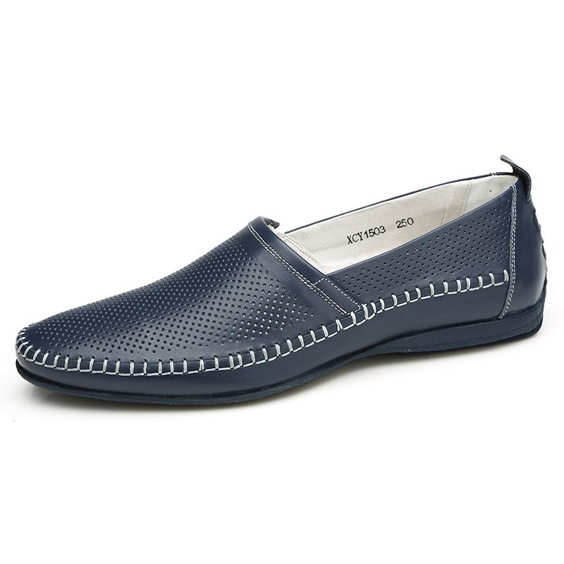 Giày lười nam thời trang Olunpo XCY1503 cao cấp