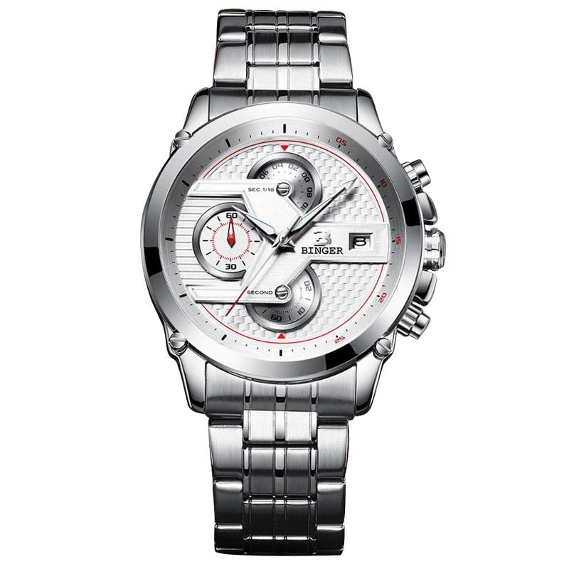 Đồng hồ nam Chronograph Binger Field Watch