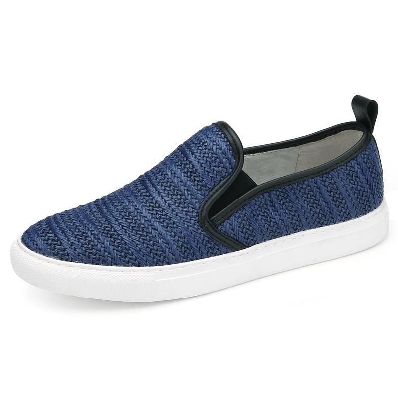 Giày slip-on đan bện Olunpo