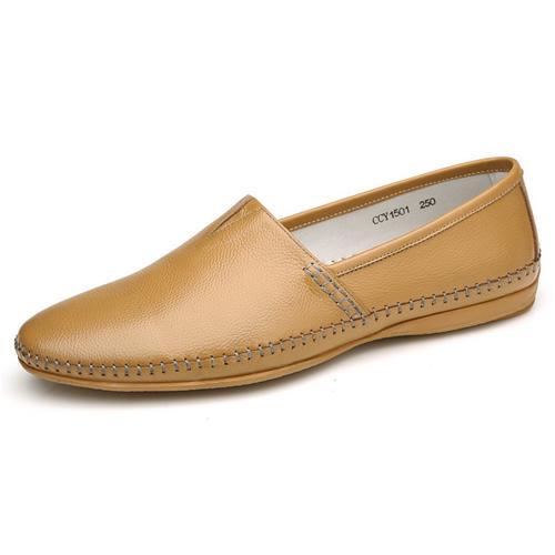 Giày lười nam viền khâu Olunpo CCY1501 độc đáo