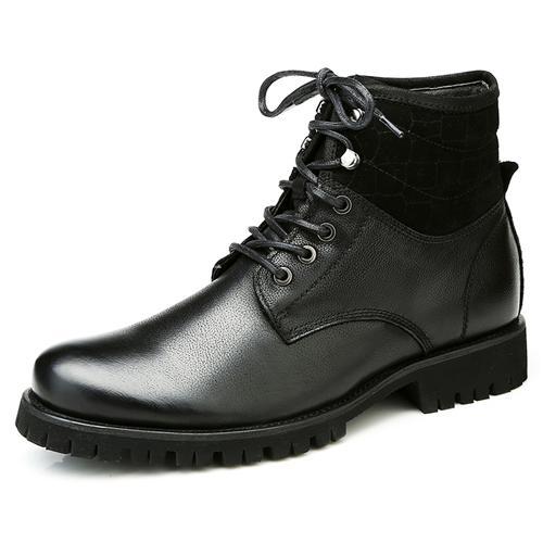 Giày nam cao cổ Olunpo DZK1408 mặt trong lớp nhung