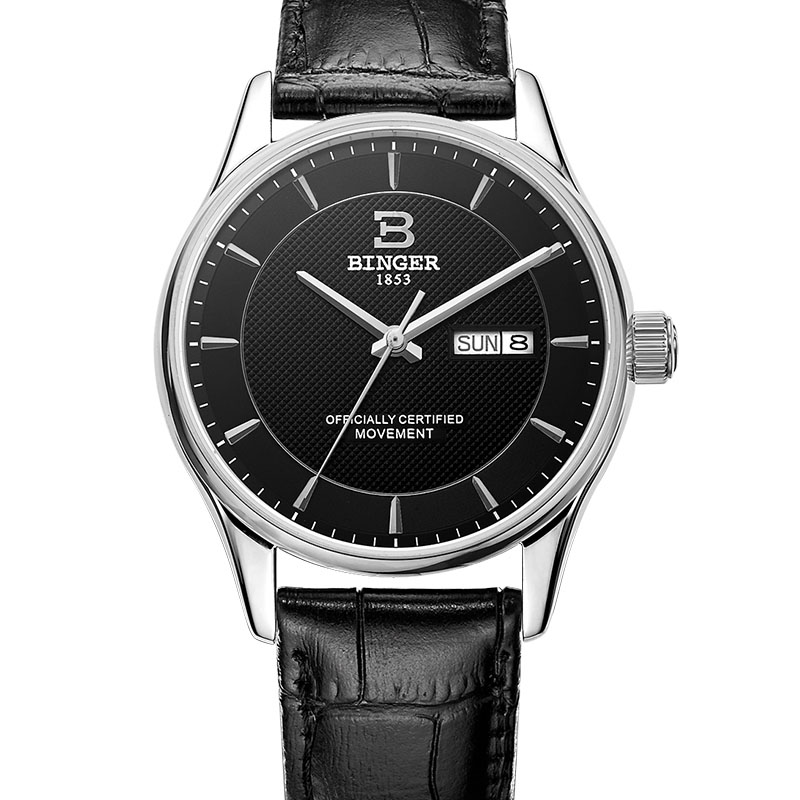 Đồng hồ nam máy cơ automatic Dress Watch Binger