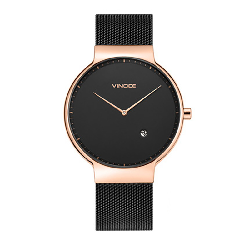 Đồng hồ nam siêu mỏng phong cách hoàn mỹ