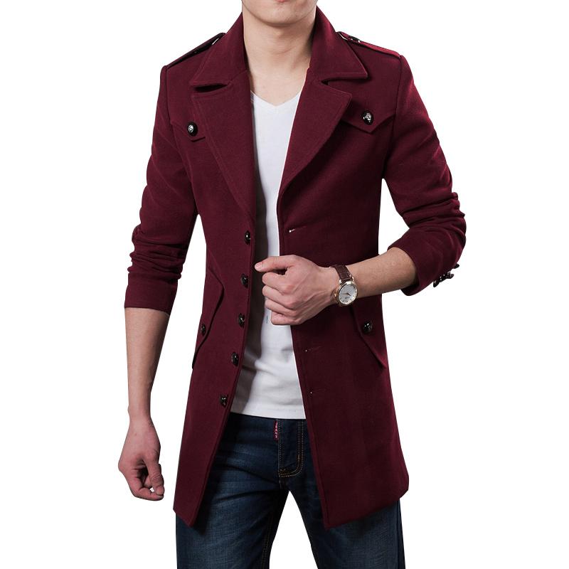 Áo khoác dạ trench coat nam CTHAPINE style ÂU Mỹ