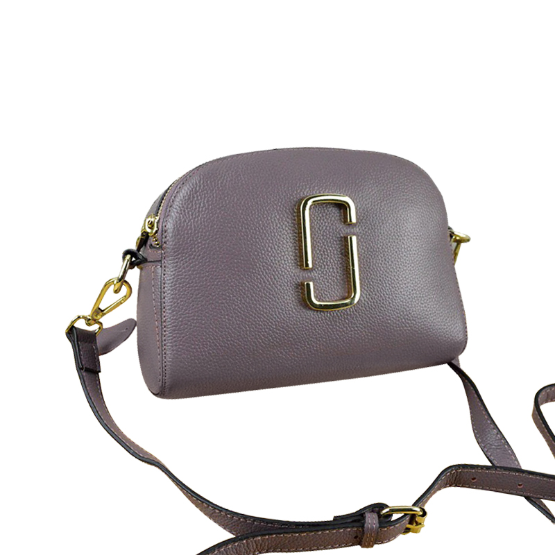 Túi hộp mini crossbody khóa đôi Heti