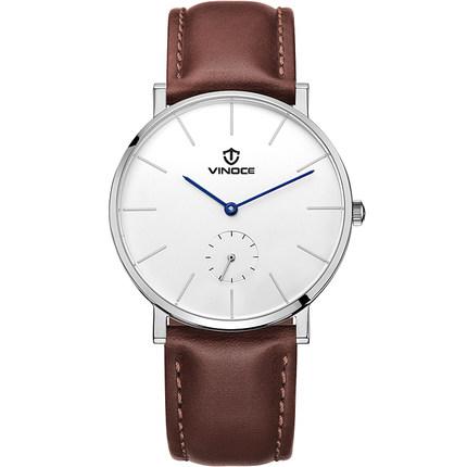 Đồng hồ nam siêu mỏng phong cách Retro Simple