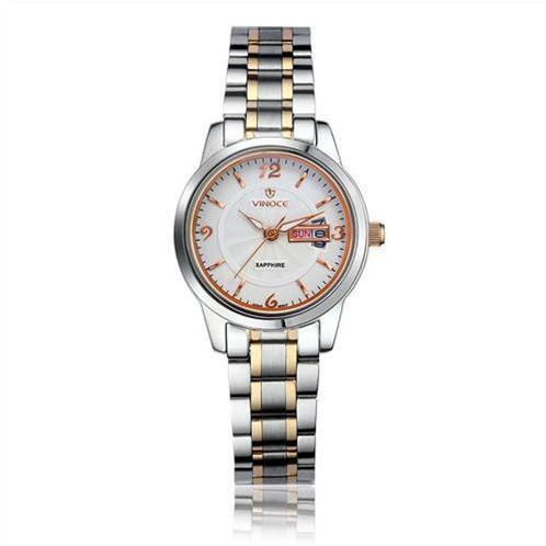 Đồng hồ siêu mỏng thời trang nữ Vinoce V8731