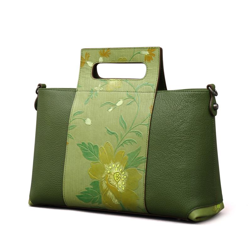 Túi Doctor in hoa phù dung 3D PMSIX