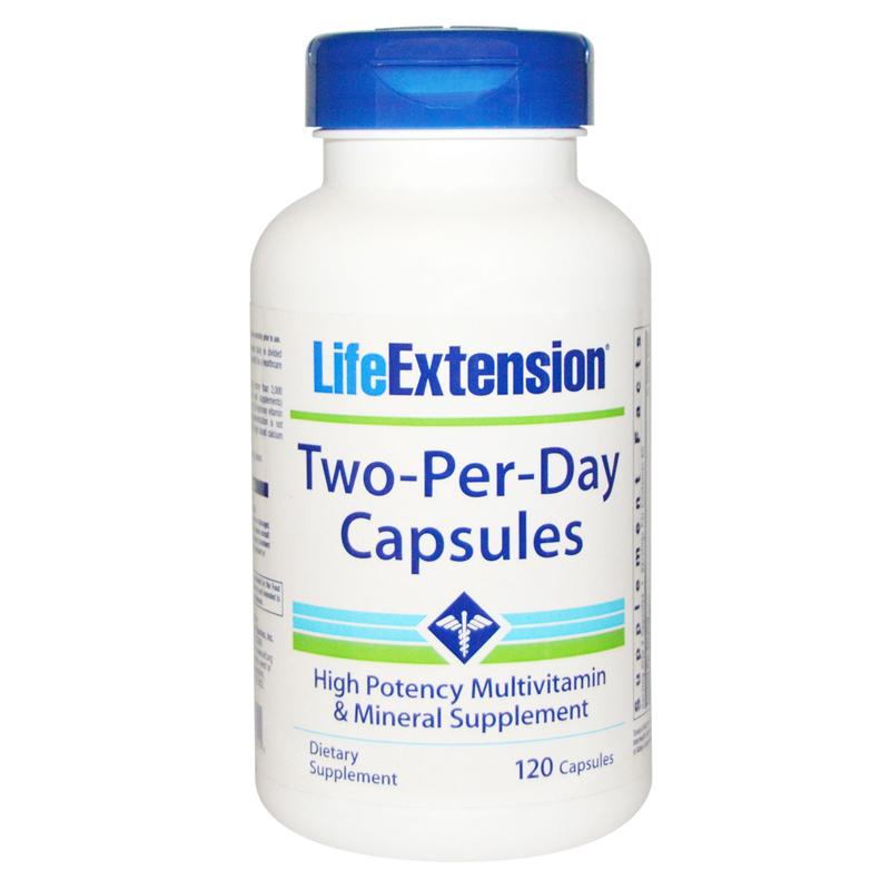 Viên uống bổ sung sức khỏe Life Extension Two-Per-Day Capsules