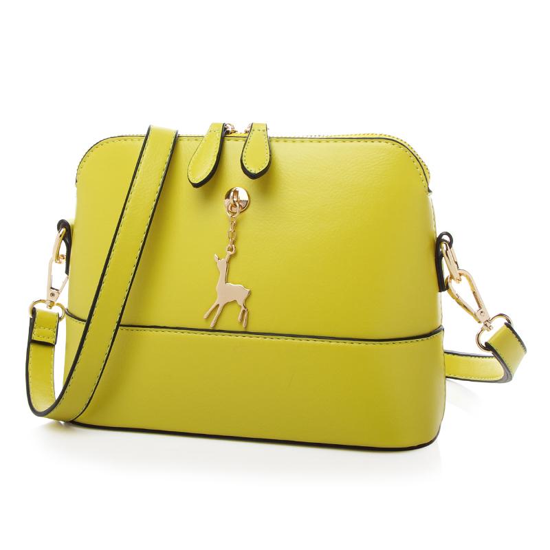 Túi đeo chéo nai vàng Micherr khóa đôi
