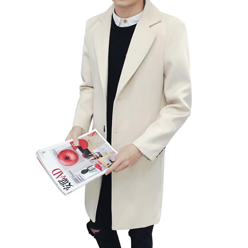 Áo măng tô dạ phong cách Hàn Quốc Jo minie