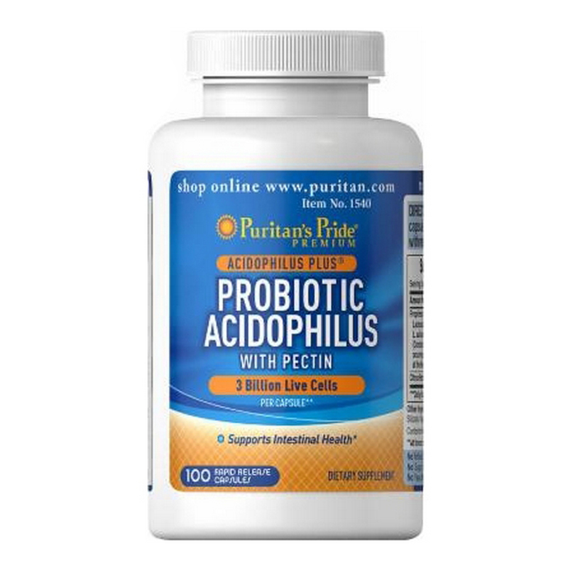 Viên uống hỗ trợ tiêu hóa Puritan's Pride Probiotic Acidophilus