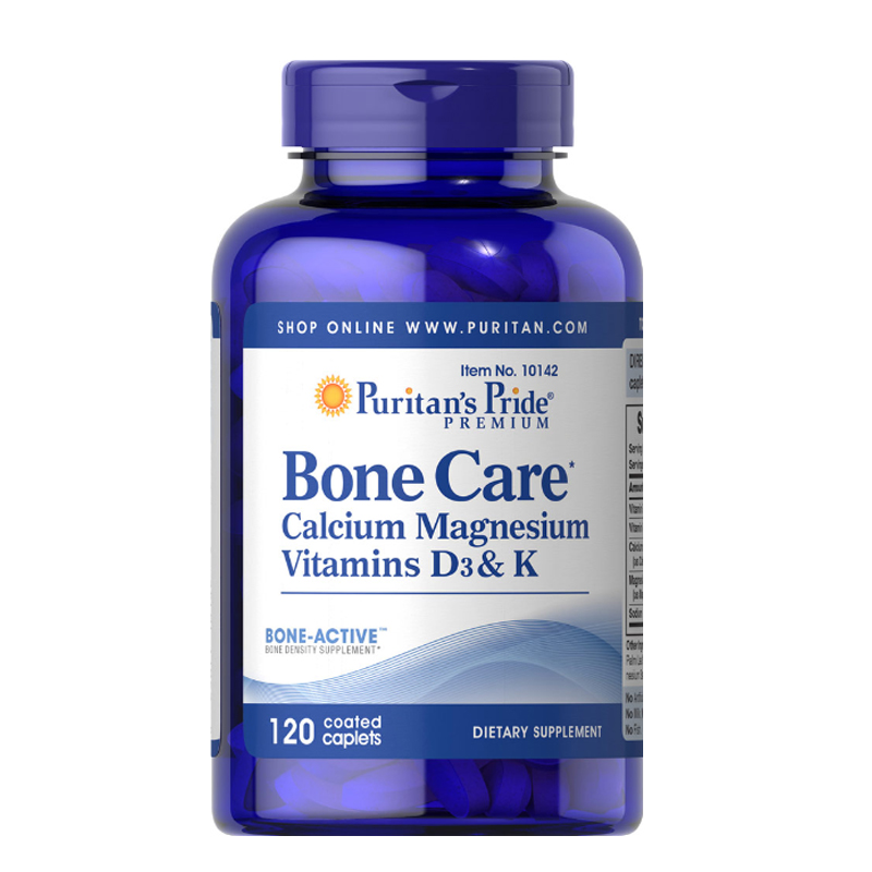 Viên uống bổ xương Puritan's Pride Bone Care 120 viên
