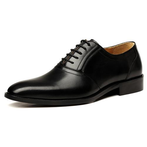 Giày da nam mũi nhọn VANGOSEDUN VG78805