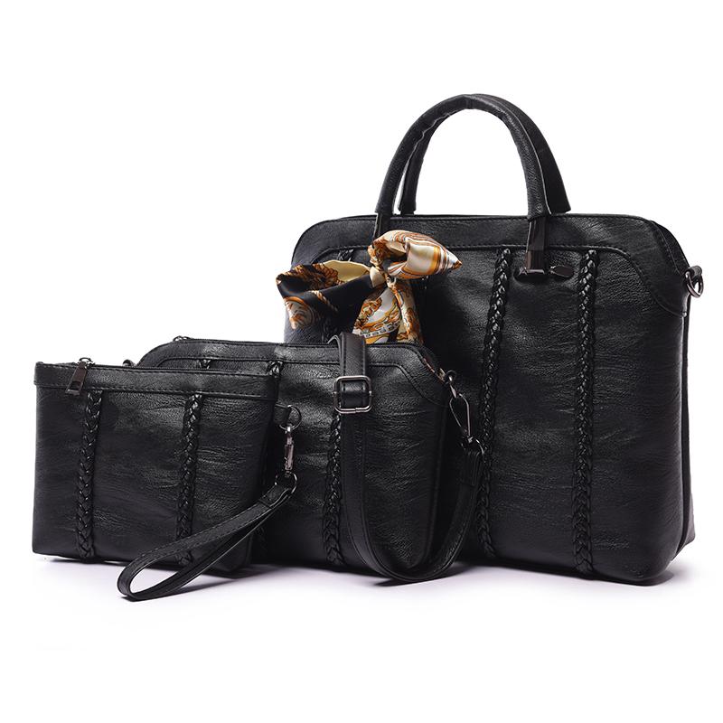 Combo túi Tote bag thắt nơ Nobely (3 túi)