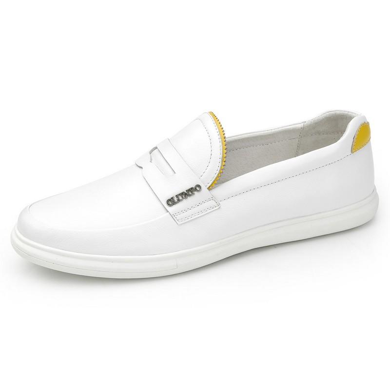 Giày Penny Loafer nam viền răng cưa Olunpo