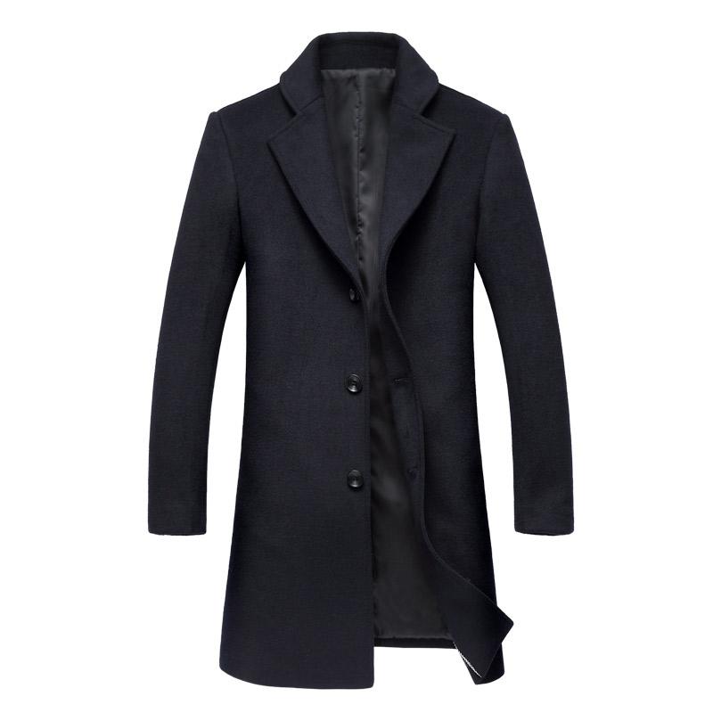 Áo khoác nam dạ lông cừu Chesterfield Coat Kadapo