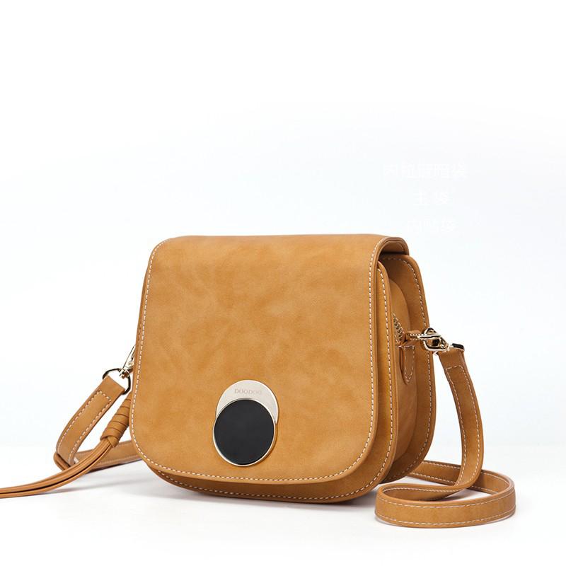Túi saddle mini khóa tròn DooDoo