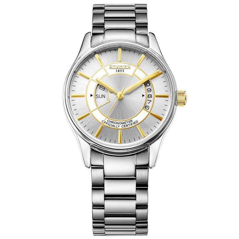 Đồng hồ cơ nam phong cách hoàng gia Binger