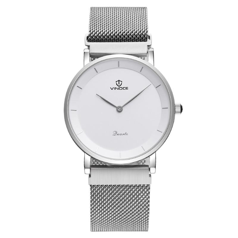 Đồng hồ nam Vinoce 2 kim siêu mỏng
